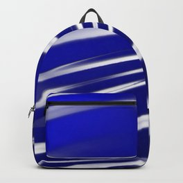 Ocean Flag Of Love and Peace Backpack