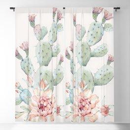 Cactus 3 #society6 #buyart Blackout Curtain