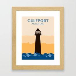Gulf Shores - Alabama. Framed Art Print