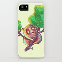 Lil Loris into the Wild iPhone Case