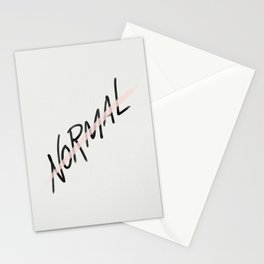 Not Normal Stationery Cards