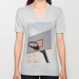 basketball hoop 4 Unisex V-Neck