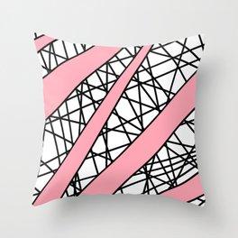 Lazer Dance P Throw Pillow