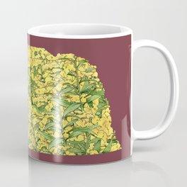 Nebraska in Flowers Coffee Mug