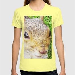 The many faces of Squirrel 5 T-shirt