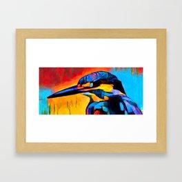 Kingfisher 2 Framed Art Print
