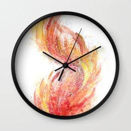 Ignited - Burn Series Wall Clock