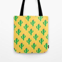 Pattern #13 B: Cactus Tote Bag