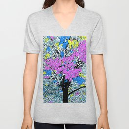 TREE SO PRETTY Unisex V-Neck