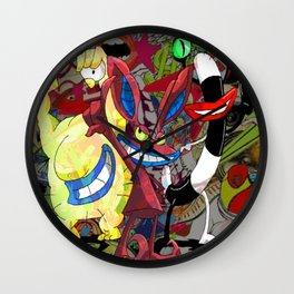 The Realest Monsters Wall Clock