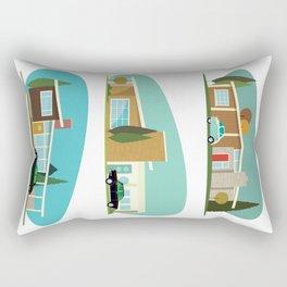 Hollywood Bungalows Rectangular Pillow
