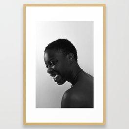 bina Framed Art Print