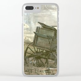 Old Wagon Clear iPhone Case