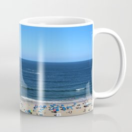 Blue Sky at Virginia Beach Coffee Mug