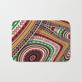 Tribal adventure Bath Mat