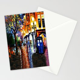 The Light Tardis Stationery Cards