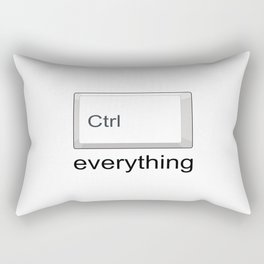 Control Ctrl everything Rectangular Pillow