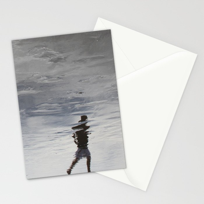 at the edge of a dream Stationery Cards