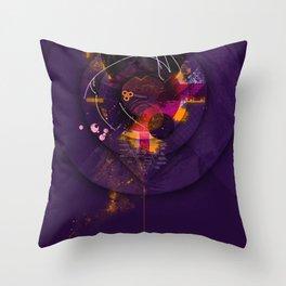 Spiral Geometric Dominance Throw Pillow