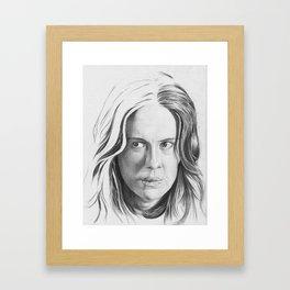 Lana Banana Framed Art Print