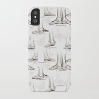 ballet iPhone & iPod Cases featuring Ballet by Moira Birch Swiatkowski