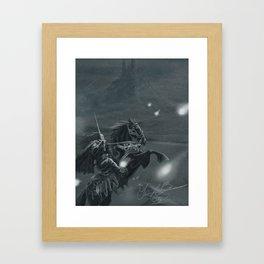 Winter Knights Framed Art Print