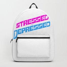 STRESSED n DEPRESSED Backpack