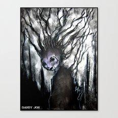 Oddity: Tree Girl Canvas Print