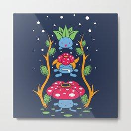 Kanto Forest Metal Print