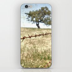 Tree Behind Fence iPhone & iPod Skin