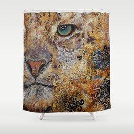 Leopard Dynasty Shower Curtain