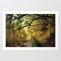 wonderland Art Prints featuring wonderLand by Dirk Wuestenhagen Imagery