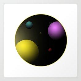 Planets Art Print
