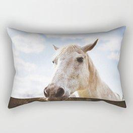 head of horse Rectangular Pillow