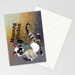Musang padan Stationery Cards