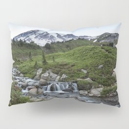 Edith Creek and Mount Rainier Pillow Sham