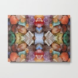 Fiery gems for you Metal Print