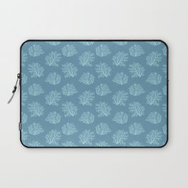 Sea Coral in Blue Laptop Sleeve