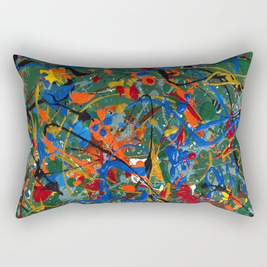 Abstract #17 Rectangular Pillow
