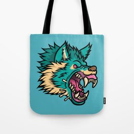 Cold Harsh Wolf Tote Bag