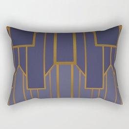 ART DECO G3 (abstract artdeco geometric) Rectangular Pillow