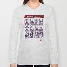 Portraits of artists Long Sleeve T-shirt