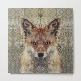 Fox II Metal Print
