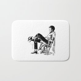 The Cowboy from the East Bath Mat
