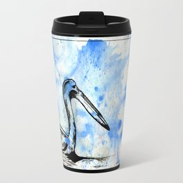 Blue Pelican Travel Mug