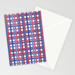4th of July Gingham Stationery Cards