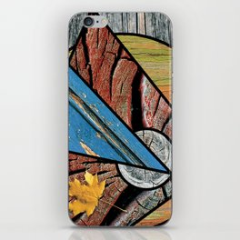 Angles of Nature ~ Design 01 Wood iPhone Skin