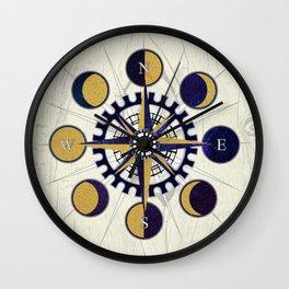 Solar Compass Wall Clock