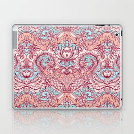 Natural Rhythm - a hand drawn pattern in peach, mint & aqua Laptop & iPad Skin