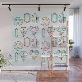Crystal and Gemstones Vol 1 Wall Mural